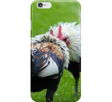 Are You For Real... Or A Mirror? - Silver-Duckwing Roosters - NZ iPhone Case/Skin