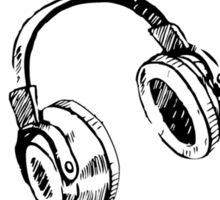 Am I Wearing Headphones? Sticker