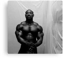 Muscle Show #3 Canvas Print