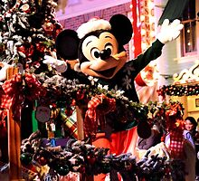 Disney Mickey Mouse Disney Christmas Mickey Mouse by notheothereye