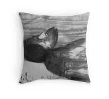 """""""Christ in a Coffin"""" Throw Pillow"""