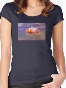 Clownfish is No Joke Women's Fitted Scoop T-Shirt