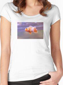 Clownfish is No Joke Women's Fitted Scoop T-Shirt