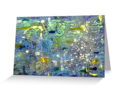 Tidal Forces Greeting Card
