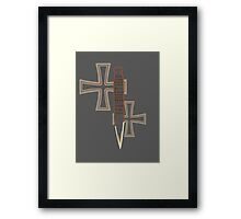 Mr Pointy Framed Print