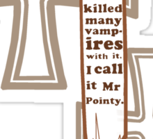 Mr Pointy Sticker