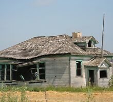 An Old Schoolhouse by Vickie Emms