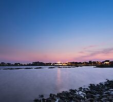 Pensacola Dusk by the Bay by Greg Riegler