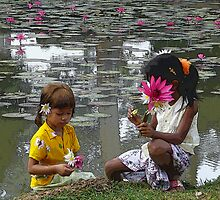 temple children by Courtney Goddard