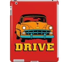 DRIVE CLASSIC-RIDE 233 iPad Case/Skin