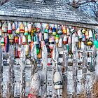 Wintering Buoys by Richard Bean