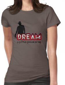 Dream Little  Womens Fitted T-Shirt