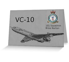 VC-10 Greeting Card