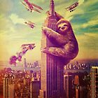 Sloth Kong by paigehavlin