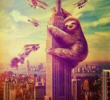 Sloth Kong by paigehavlin