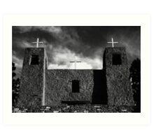 """Three Crosses of San Rafael"" Art Print"