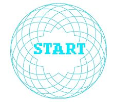 Spirograph Blue Loading Screen Circle by Diddlys-Shop