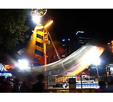 Festival Ride Photographic Print