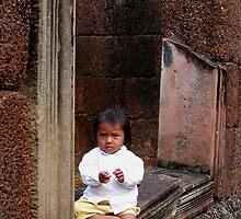 child of bantaey srei - cambodia by Courtney Goddard