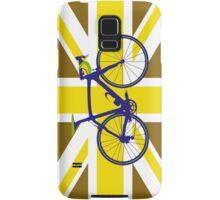 Bike Flag United Kingdom (Gold) (Big - Highlight) Samsung Galaxy Case/Skin