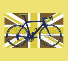 Bike Flag United Kingdom (Gold) (Big - Highlight) Kids Clothes