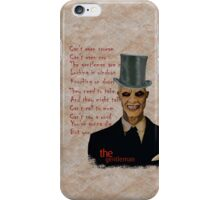 The gentleman! iPhone Case/Skin