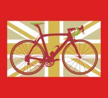 Bike Flag United Kingdom (Yellow) (Big - Highlight) Kids Clothes