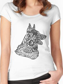 German_Shepard Women's Fitted Scoop T-Shirt