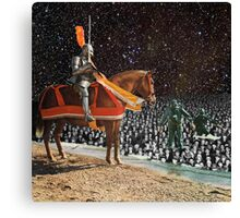 KNIGHT & DIVERS Canvas Print