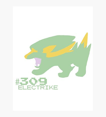 ELECTRIKE! POKEMON Photographic Print