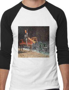 KNIGHT & DIVERS Men's Baseball ¾ T-Shirt