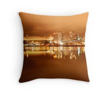 BC Place At Night Throw Pillow