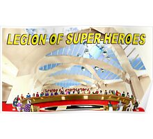 Legion of Super-Heroes Gathering Poster