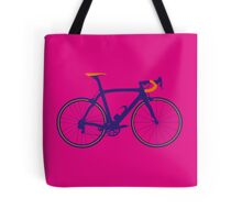 Bike Pop Art (Purple & Orange) Tote Bag