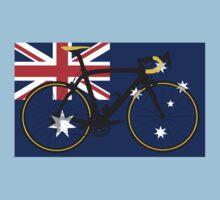 Bike Flag Australia (Big - Highlight) Kids Clothes