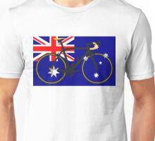 Bike Flag Australia (Big - Highlight) Unisex T-Shirt