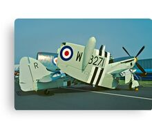 Fairey Firefly AS.5 WB271/R folded Canvas Print