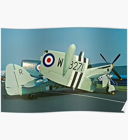 Fairey Firefly AS.5 WB271/R folded Poster