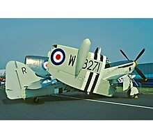 Fairey Firefly AS.5 WB271/R folded Photographic Print