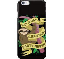 Sloth Philosophy iPhone Case/Skin