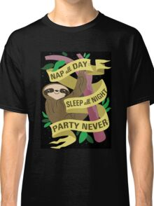 Sloth Philosophy Classic T-Shirt