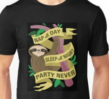 Sloth Philosophy Unisex T-Shirt