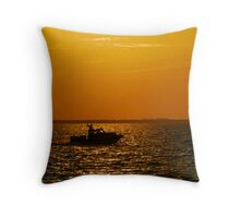 """Florida Boating"" Throw Pillow"