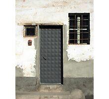 Door 92 Geometric Photographic Print
