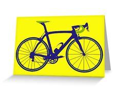 Bike Pop Art (Purple & Green) Greeting Card