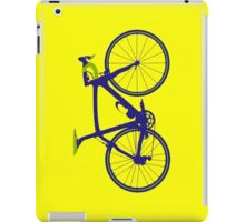 Bike Pop Art (Purple & Green) iPad Case/Skin