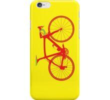 Bike Pop Art (Red & Green) iPhone Case/Skin