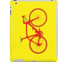 Bike Pop Art (Red & Green) iPad Case/Skin