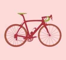 Bike Pop Art (Red & Green) One Piece - Long Sleeve