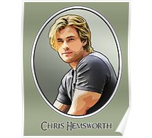 Chris Hemsworth Hunkiest Man Alive Poster